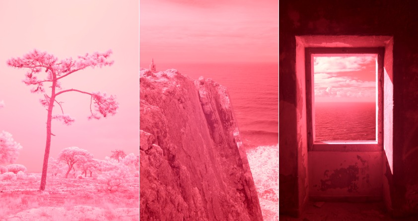 Evan Roth – Red Lines with Landscapes: Portugal